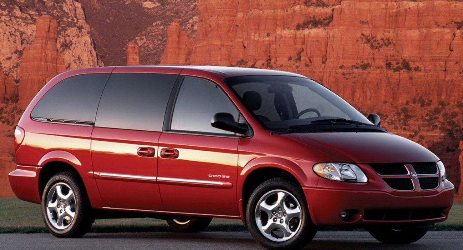 Dodge Caravan — лучший минивэн за 300 тысяч рублей Автомобили