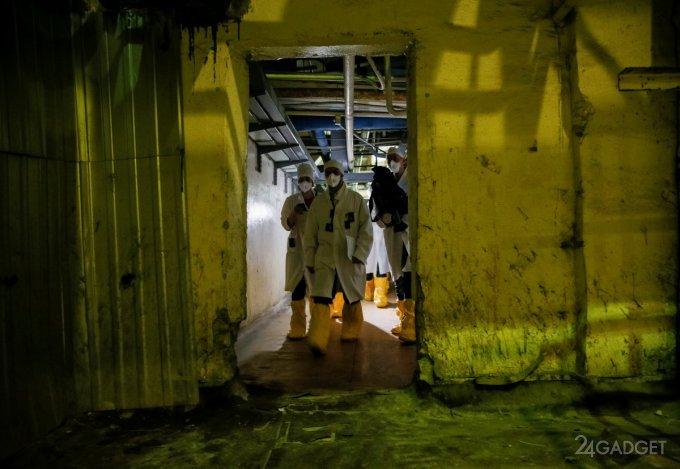 Туристам сталкерам открыли доступ на Чернобыльскую АЭС сталкеры,Чернобыль