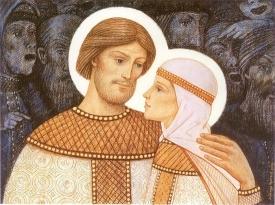 Покровители семьи и брака: муромские святые, Бабья заступница, Ксения Петербургская