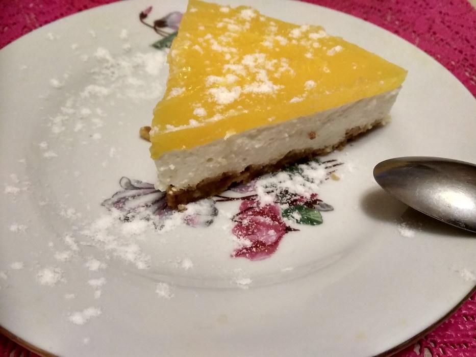 Апельсиновый торт, без выпечки