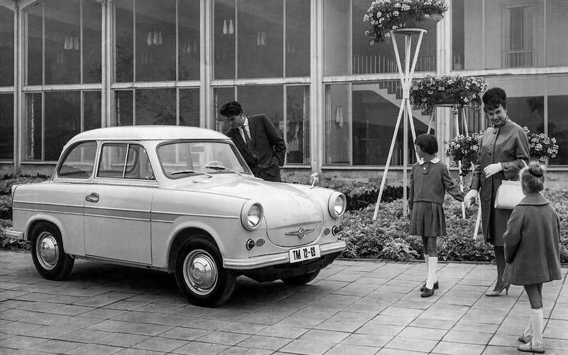 Пластмассовый хит: как сделали 3000000 Трабантов автомобили