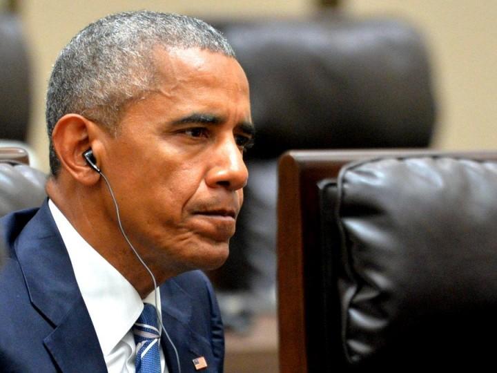 Обама выглядит жалким в исто…