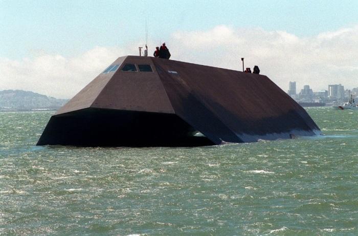 Корабль-невидимка из США. /Фото: surfingbird.ru.