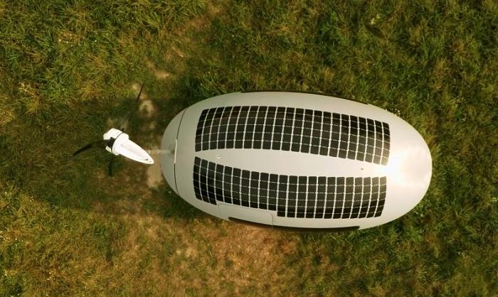 Резервуар для сбора дождевой воды находится на крыше «Ecocapsule» (Словакия). | Фото: ecotechnica.com.ua.
