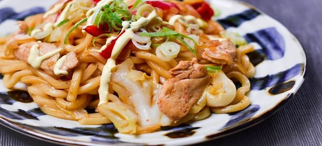 Удон с курицей и овощами - рецепт вкусного, пикантного блюда для всей семьи курицей, тушите, лапша, лапшой, соусом, курицу, соусе, перец, овощами, чеснока, имбирь, блюдо, чтобы, овощи, который, варите, лапшу, грибы, бедра, соевый
