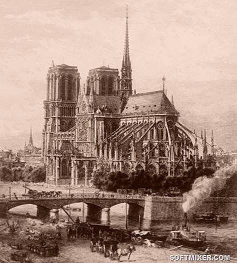 Каменный ребус Парижа история,интересное,былые времена