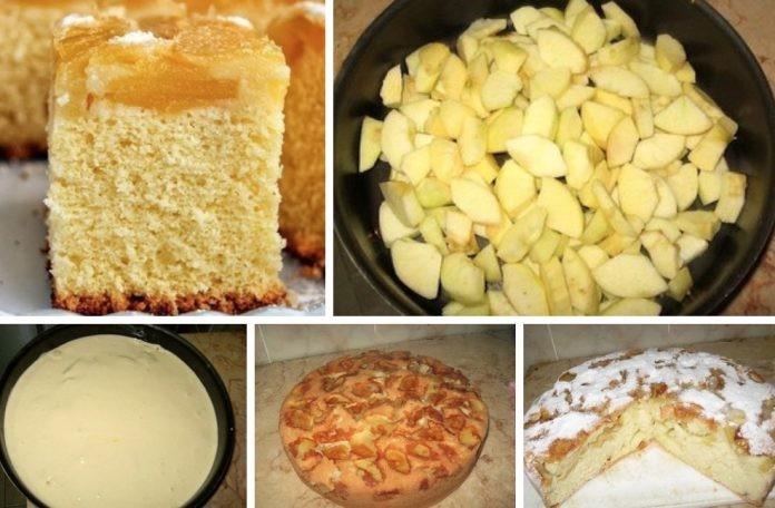 Рецепт проверенный двумя поколениями: Шарлотка «Яблочный бум»