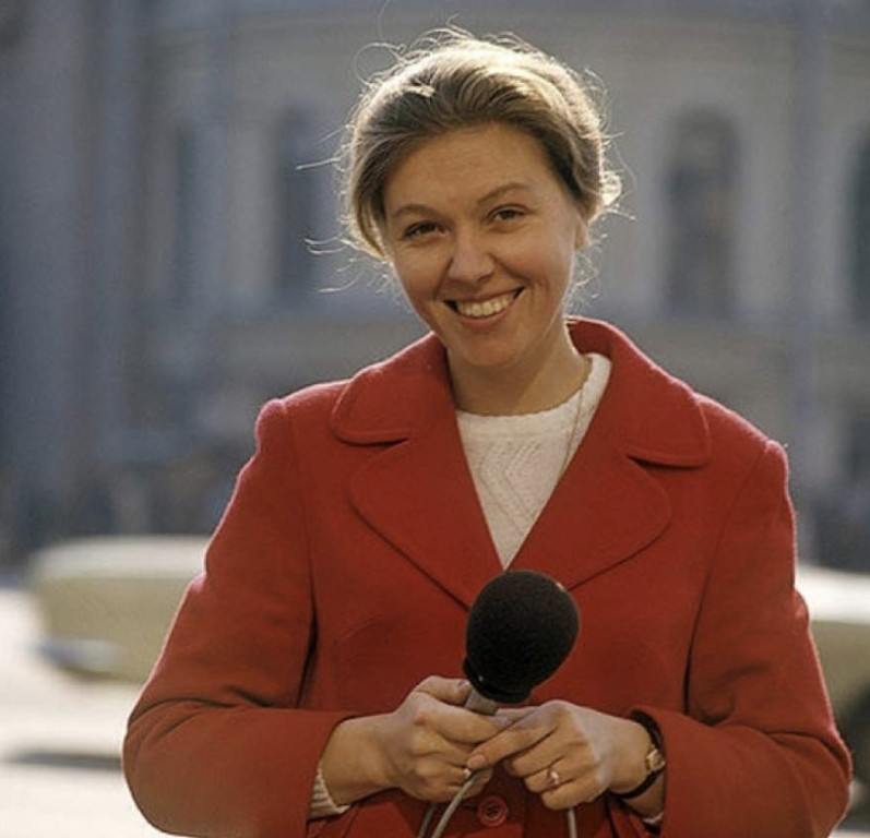 Самая позитивная советская телеведущая Юлия Белянчикова