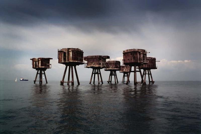 Британские морские форты страшные места, страшные места на земле, страшные места на земле фото
