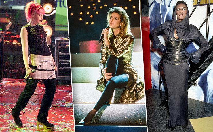 Кожа, шубы и золото: в чём звезды отмечали Новый год в 90-х