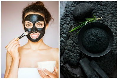 Черная маска от черных точек: очищение активированным углем