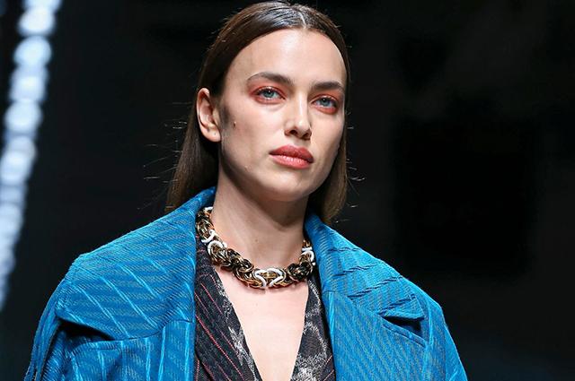 Неделя моды в Милане: Ирина Шейк, Белла и Джиджи Хадид, Каролина Куркова на показе Missoni