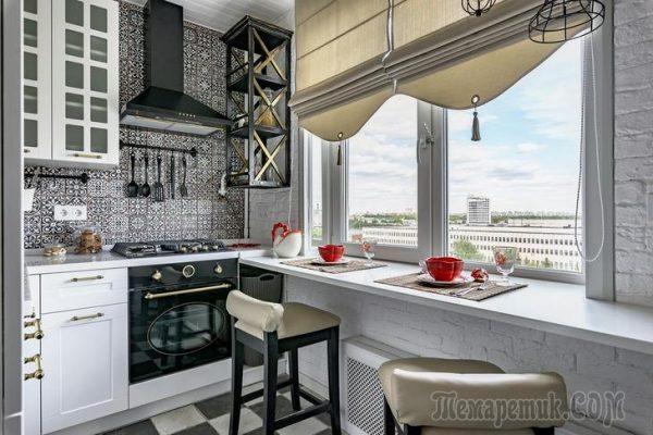 Дизайн-проект 6-метровой кухни, в который можно влюбиться с первого взгляда