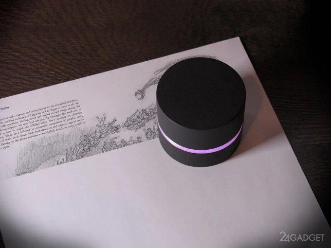 Карманный робот, умеющий сканировать и печатать документы