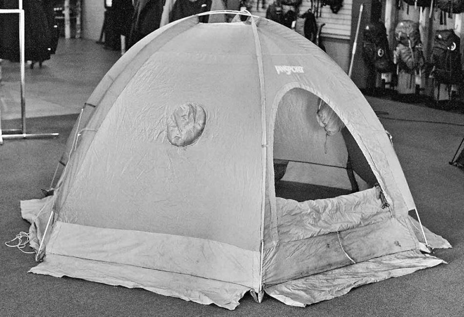 Место палатки в мировом туризме