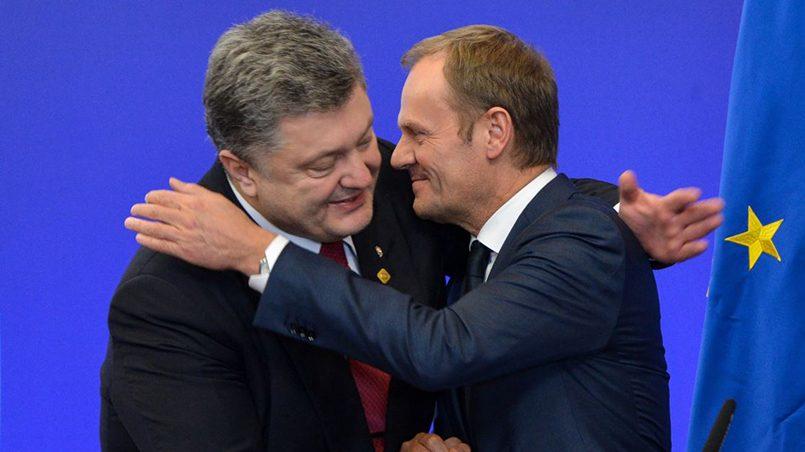 «Слава Украине» от Дональда Туска: бандеровский клич председателя Евросовета взбесил поляков