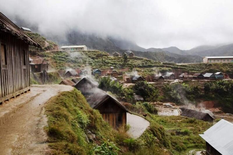 Колоритная жизнь мадагаскарской деревеньки на фото