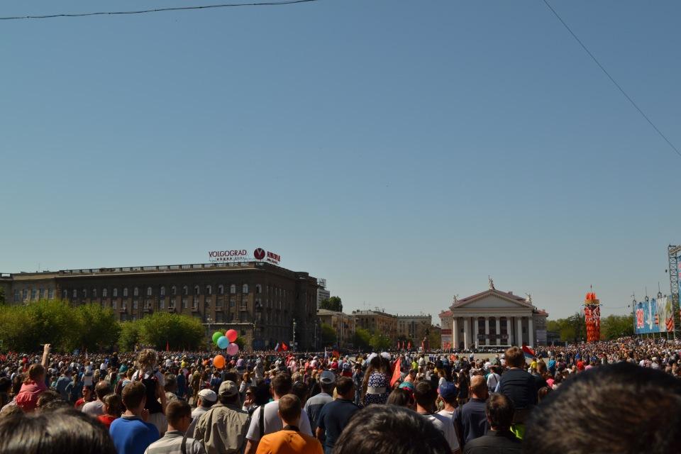 9 мая 2016 г. Волгоград.