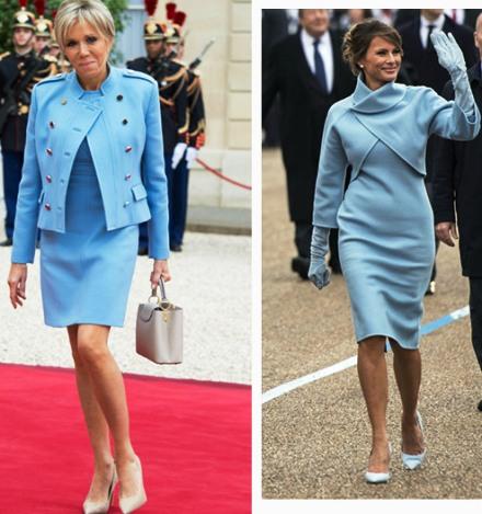 Модная битва — кто победил: Бриджит Макрон или Мелания Трамп?