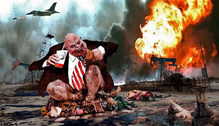 Украина нужна США как полигон для отработки войны с русскими
