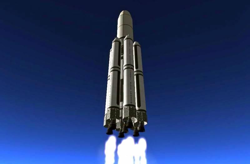 Метановый «Енисей»: как будет выглядеть новая сверхтяжелая ракета Техно