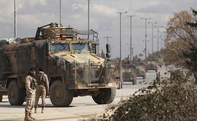 «Эрдоган отправляет турецких солдат на убой» сирия