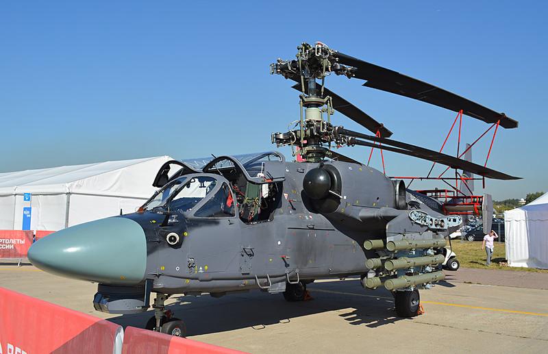 Сухопутный Ка-52 получит складывающиеся лопасти