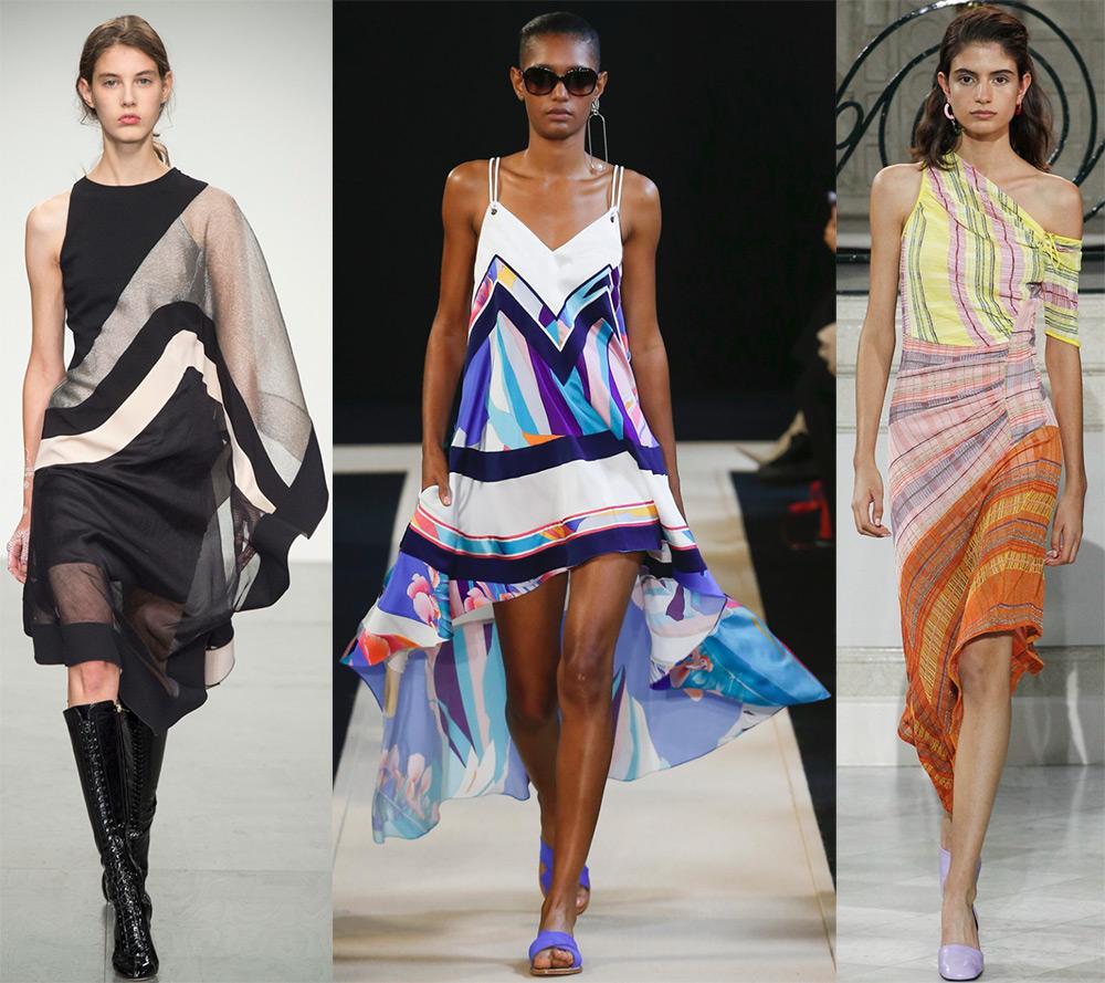 «Летящие» платья из больших платков