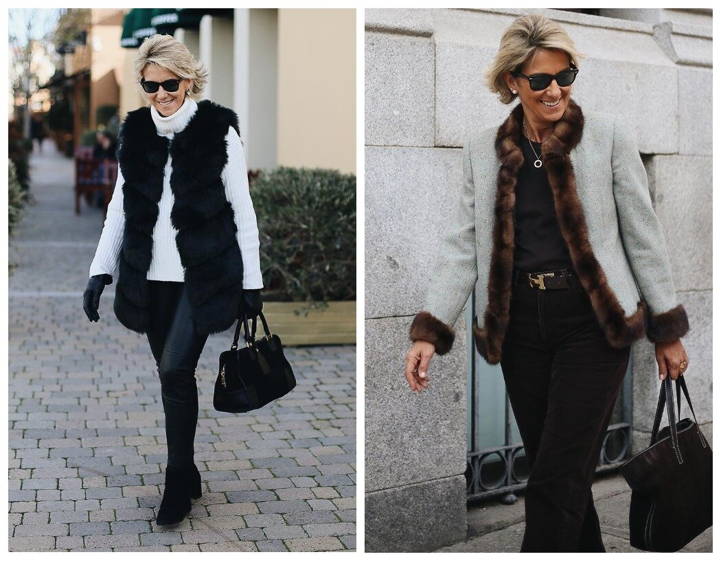 Самое контрастное сочетание: черный с белым. Но можно - серый с коричневым.