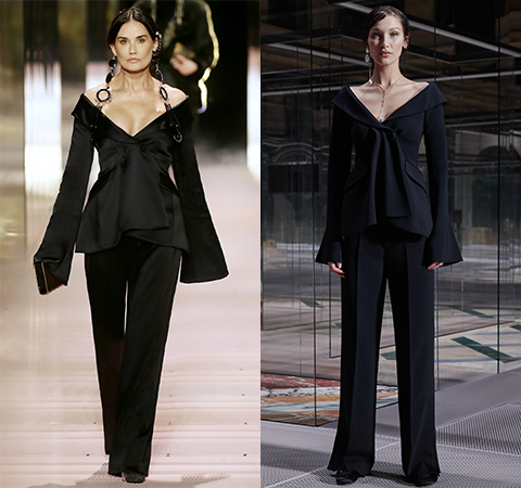 Модная битва: Деми Мур против Беллы Хадид