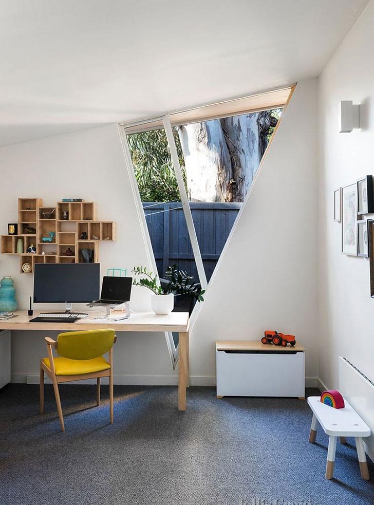 Дом в Мельбурне: старомодный снаружи и ультрасовременный внутри