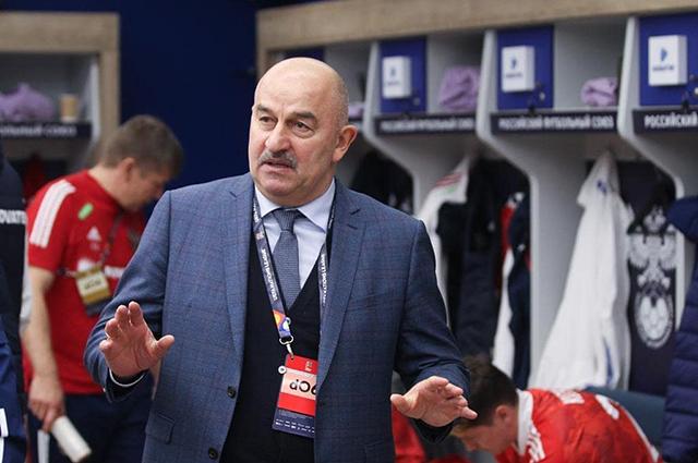 Станислав Черчесов ушел с поста главного тренера сборной России по футболу Новости