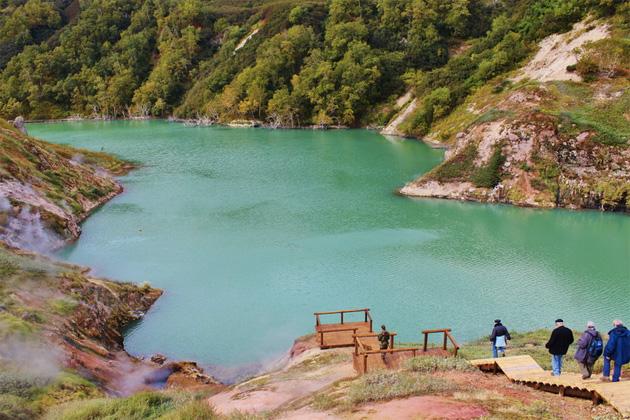 Долина гейзеров: смотрим самое красиво место Камчатки Пространство