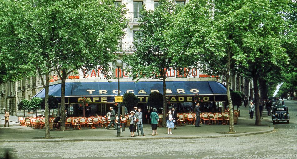 19 цветных снимков Франции 1952-1964 годов
