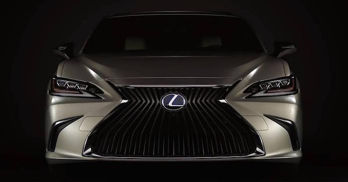 Новый Lexus ES 2019 рассекре…