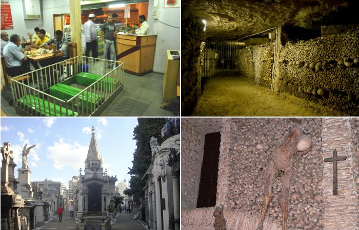 Самые жуткие кладбища на земле.