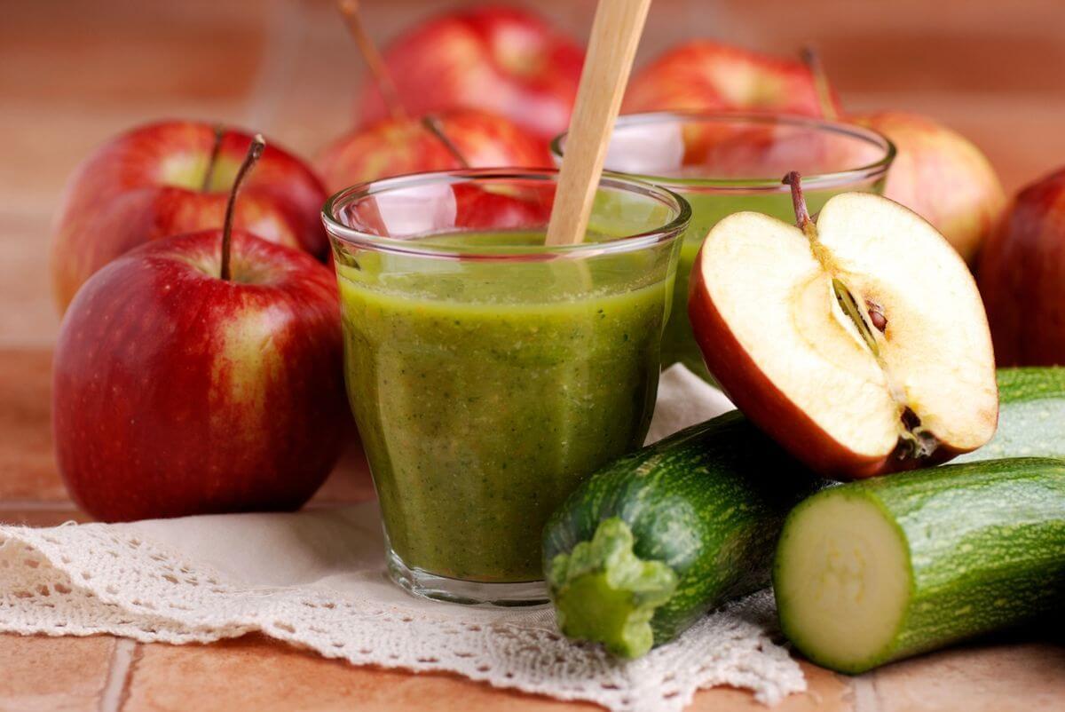 Диета на домашнем яблочном соке