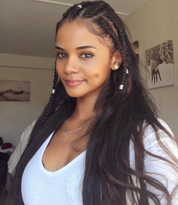 Франция + Мадагаскар Красивые девушки), девушки, факты