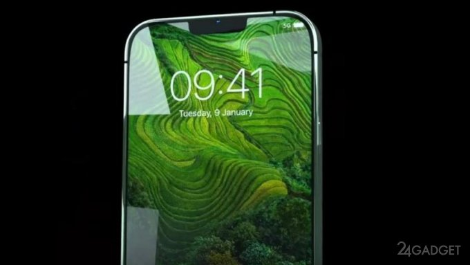 Видео модельного ряда смартфонов Apple iPhone 13