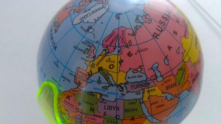 """wPolityce: """"Германия рядом с Россией?!"""": Поляки не нашли своей страны на немецком глобусе"""