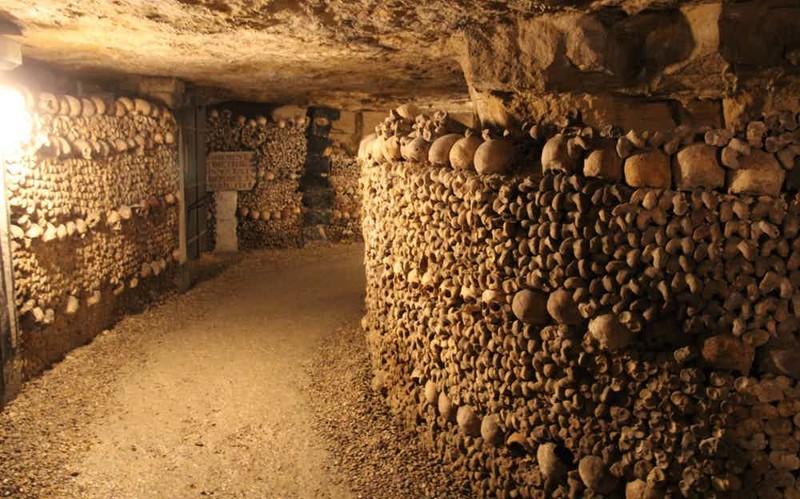 Парижские катакомбы страшные места, страшные места на земле, страшные места на земле фото