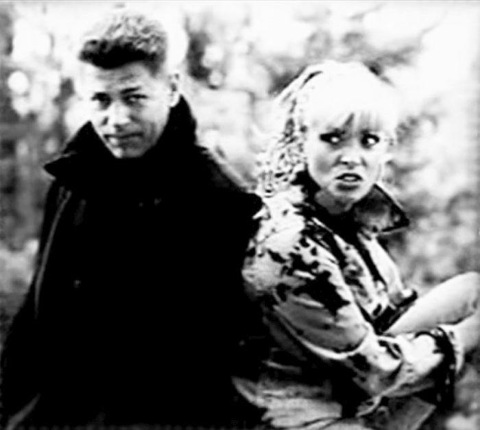 Лайма Вайкуле и Андрей Латковский в молодости. / Фото: www.doroja.com