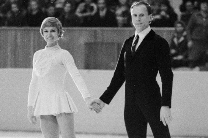 Людмила Белоусова и Олег Протопопов, 1971   Фото: aif.ru
