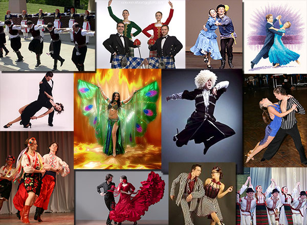 различных все названия танцев картинки выполненный такой гамме