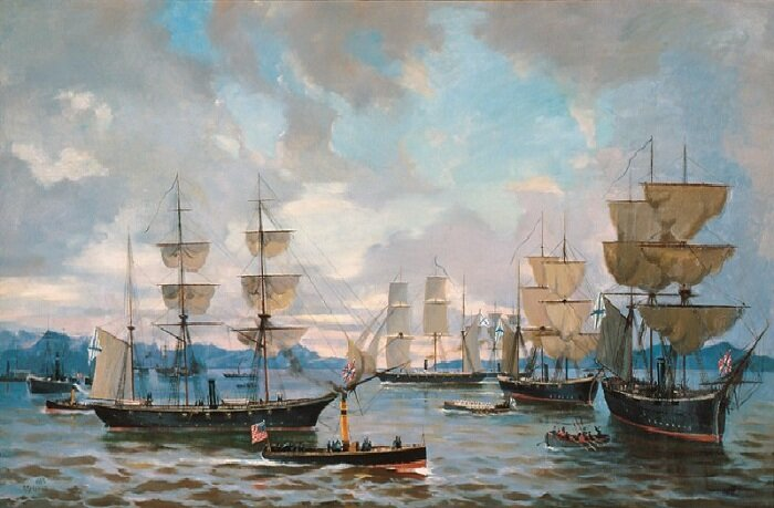 Российский флот у берегов Америки в 1862–63 годах
