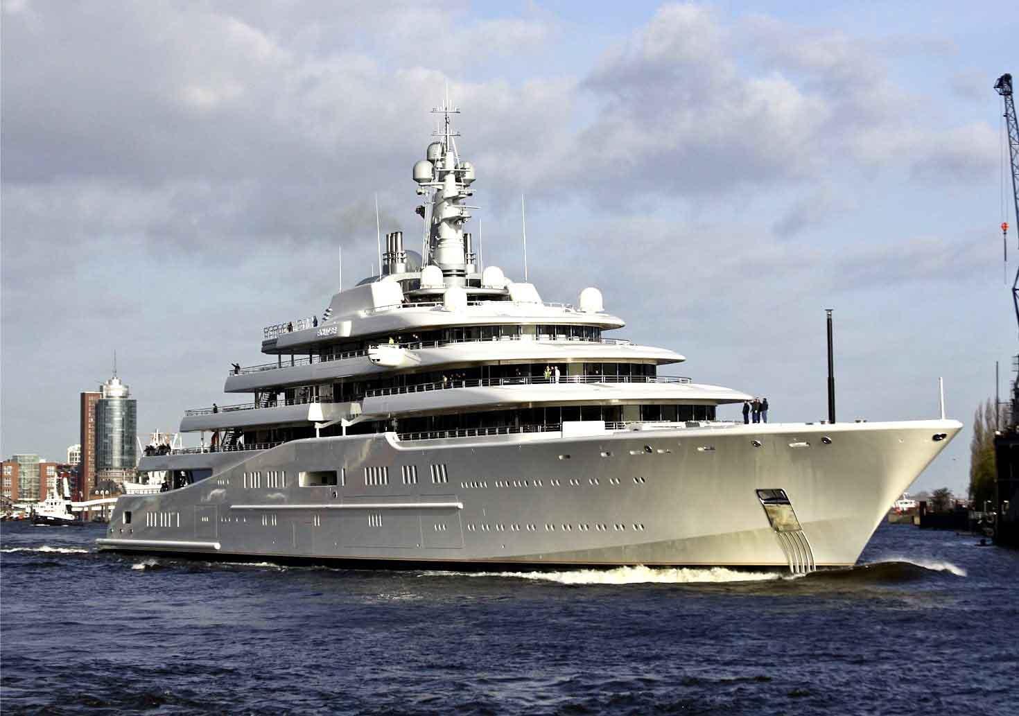Флот российских олигархов