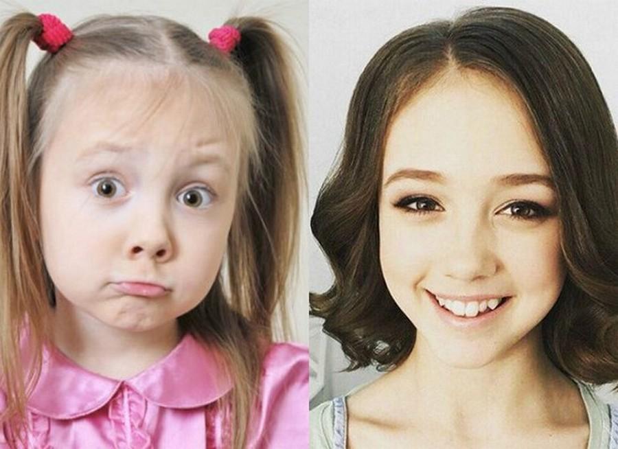 Уже совсем взрослые, вы только поглядите, до чего изменились молодые актеры русских сериалов