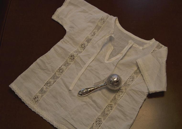 Крестильная рубашка для маль…