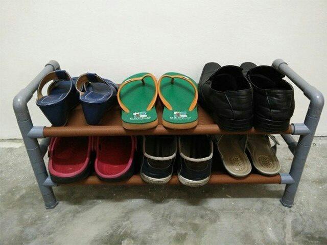 Полка для обуви своими руками легко и быстро