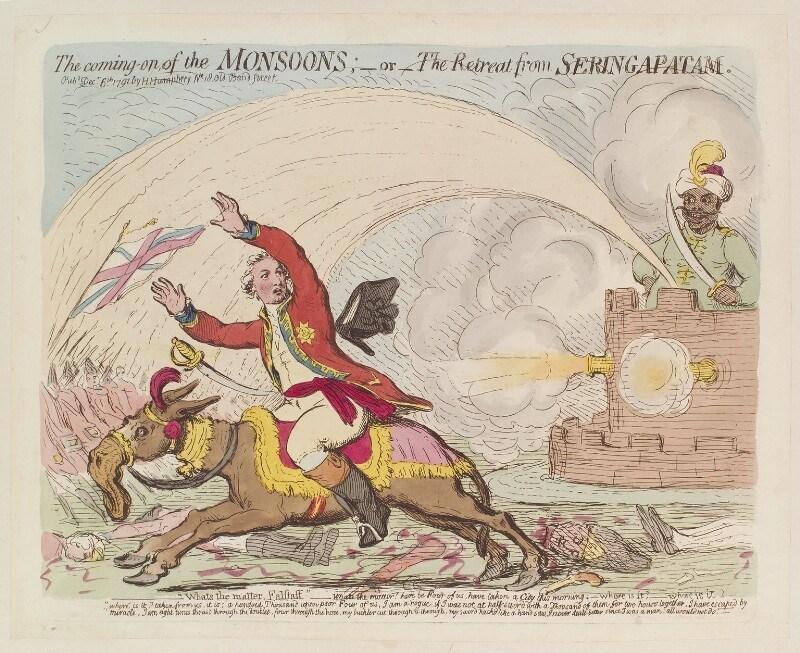 """""""Летающая чума"""" индийцев наводила ужас на британских солдат  в конце 18 века 18 век,индия,история,оружие,ракеты,Хайдер Али"""